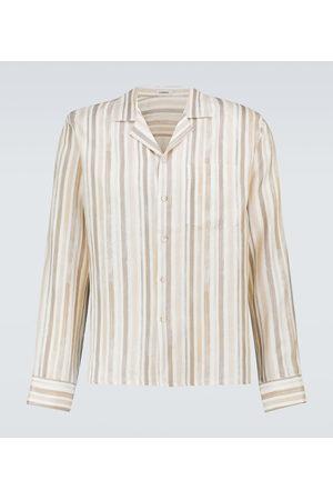 COMMAS Men Business - Striped linen shirt