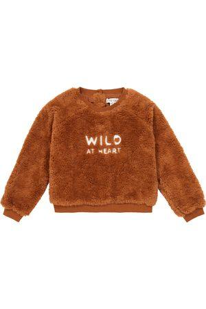 Louise Misha Boys Sweatshirts - Leon embroidered sweatshirt