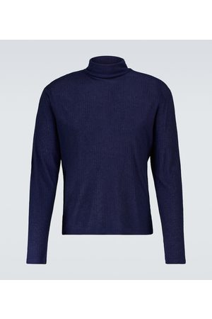 King & Tuckfield Ribbed-knit wool-blend pullover