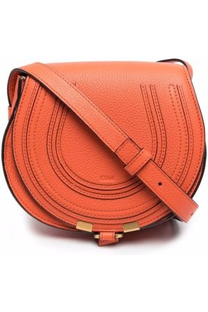 Chloé Women Shoulder Bags - Marcie logo-embossed crossbody bag