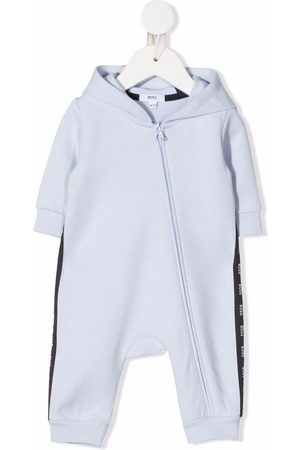 HUGO BOSS Baby Rompers - Logo-print hooded romper