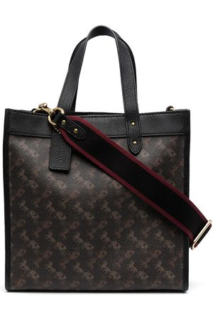 Coach Women Tote Bags - Field Horse and Carriage tote bag