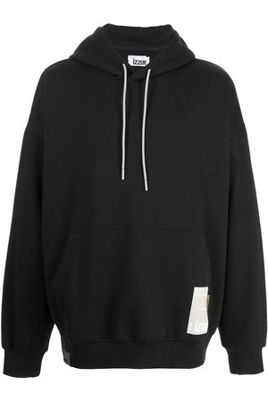 Izzue Graphic-print pullover hoodie