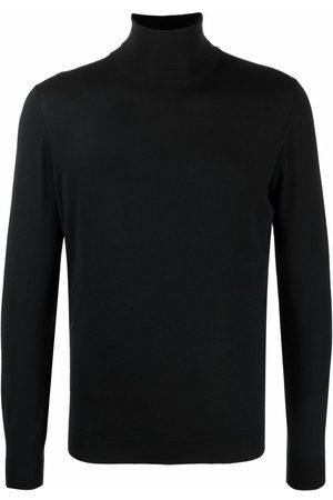 DELL'OGLIO Roll-neck merino jumper