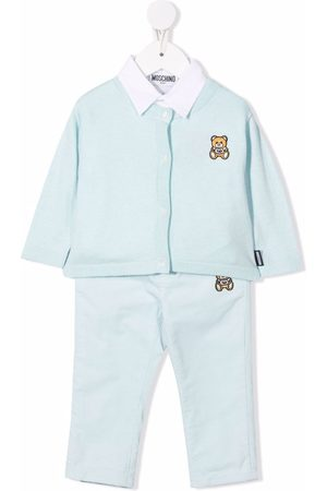 Moschino Tracksuits - Teddy Bear-embroidered tracksuit