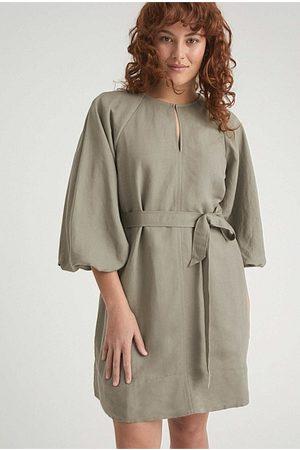 WITCHERY Women Mini Dresses - Pre-Order - Split Front Mini Dress