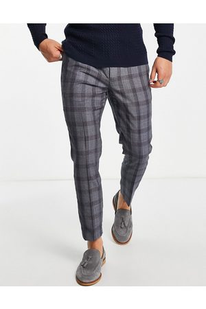 Twisted Tailor Conrad pants in dark check
