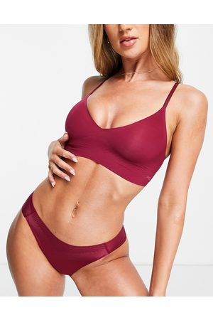 Sloggi Women Lingerie Bodies - Body Adapt seamless bralet with adjustable straps in -Red