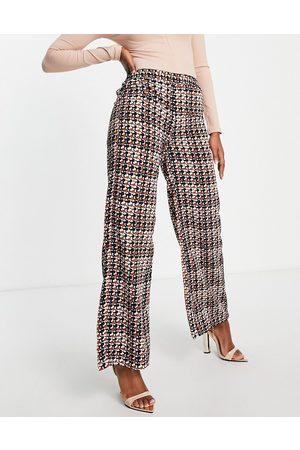VILA Wide leg pants in (Part of a co-ord)-Multi