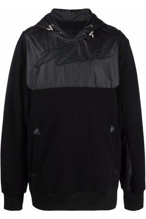 Philipp Plein Men Hoodies - Logo-print pullover hoodie