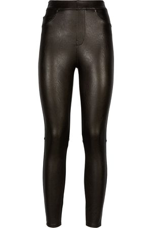 Spanx Faux leather skinny trousers