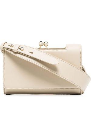 Simone Rocha Snap pearl-embellished shoulder bag