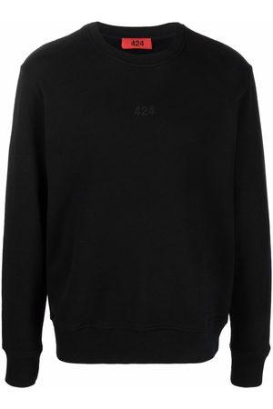 424 Logo-embroidered cotton sweatshirt