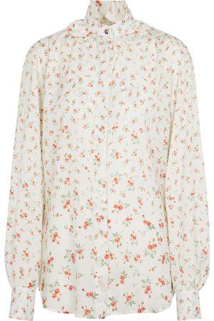 Paco rabanne Floral crêpe de chine blouse