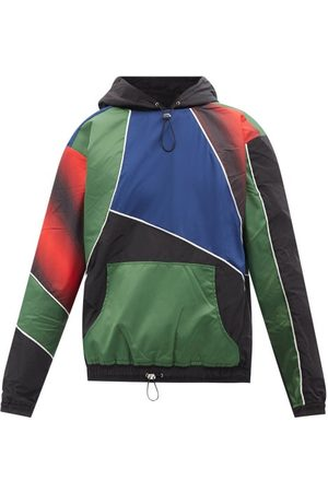 Ahluwalia Men Hoodies - Marshall Upcycled-shell Hooded Sweatshirt - Mens