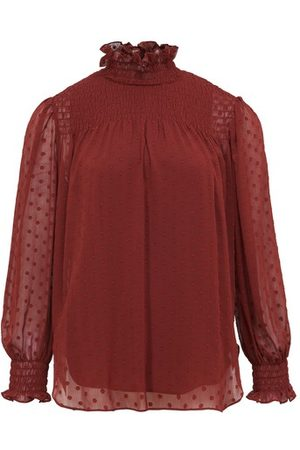 See by Chloé Women Blouses - Ruffled neck blouse