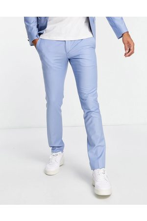 Twisted Tailor Livingston skinny suit pants in light