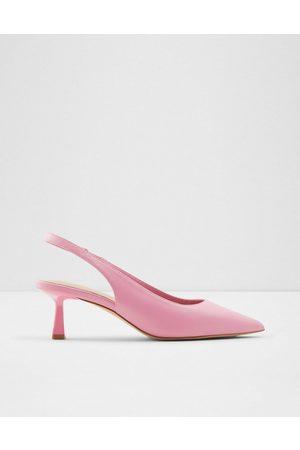 Aldo Women Heels - Peranga sling back flared heel court shoes in