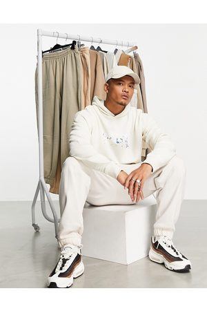The Couture Club Flying eagle oversized hoodie in -White