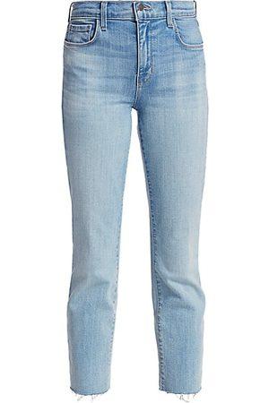L'Agence Women Boyfriend - Sada High-Rise Crop Slim Jeans
