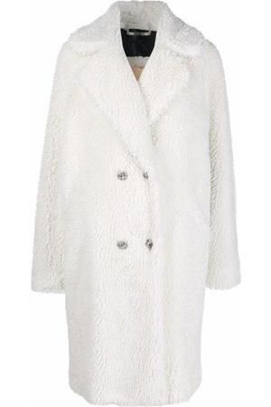 Philipp Plein Women Coats - Iconic long shaggy coat