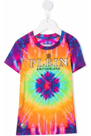 Philipp Plein Tie-dye print T-shirt