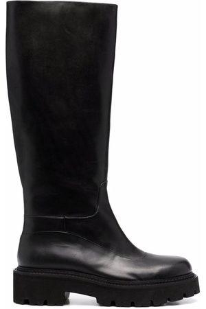 Pinko Lug sole knee-high boots