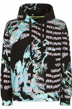 Dolce & Gabbana Graphic-print drawstring hoodie