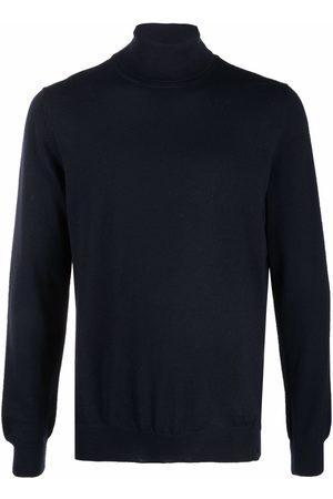 FAY Roll neck virgin wool sweater
