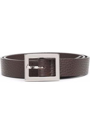 P.a.r.o.s.h. Girls Belts - Pebbled leather belt