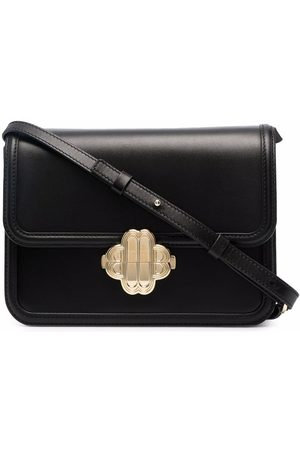 Maje Medium leather shoulder bag
