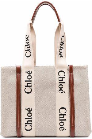 Chloé Medium logo tote bag