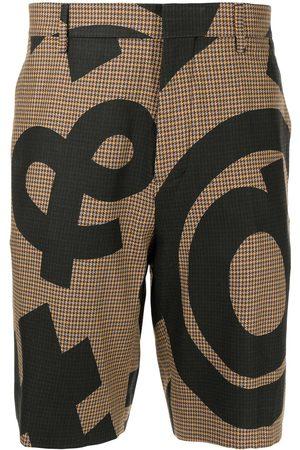 Moschino Men Bermudas - Symbol print shorts