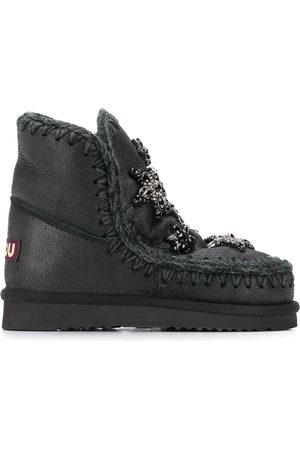 Mou Embellished star boots
