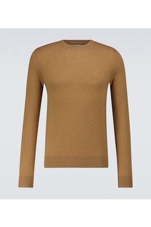 Burberry Men Sweaters - Cashmere crewneck sweater