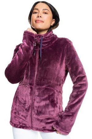 Roxy Women Fleece Jackets - | Womens Tundra Full-Zip Fleece Jacket