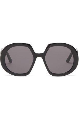 Dior Women Sunglasses - Bobby Oversized Round Acetate Sunglasses - Womens