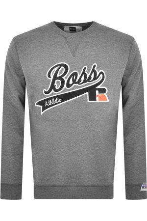 HUGO BOSS Men Sweatshirts - BOSS X Russell Athletic Stedman Sweatshirt