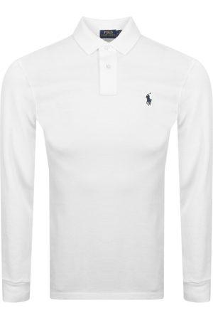 Ralph Lauren Men Polo Shirts - Long Sleeved Polo T Shirt