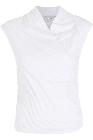 AMIR SLAMA Women Blouses - V-neck blouse