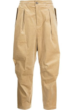 SONGZIO Formal Pants - Tapered corduroy trousers