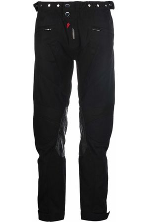 032c Logo-patch straight-leg trousers