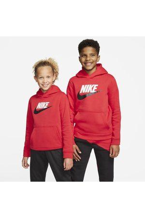Nike Boys Sweatshirts - Sportswear Club Fleece Older Kids' Pullover Hoodie