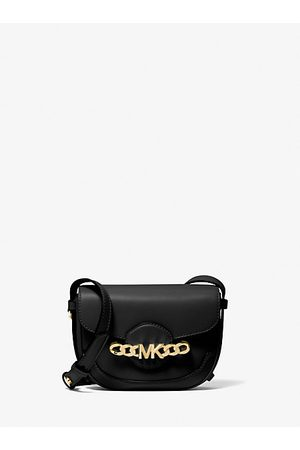 Michael Kors Women Shoulder Bags - MK Hally Extra-Small Embellished Leather Crossbody Bag - - Michael Kors