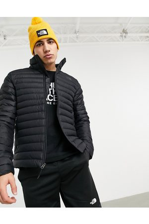 The North Face Stretch puffer vest in black