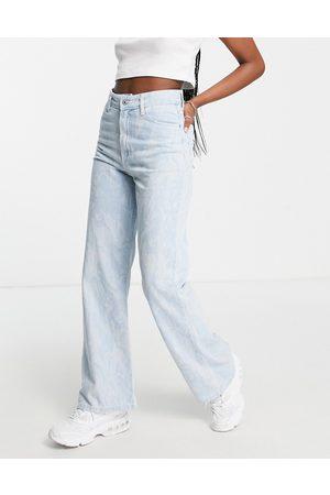 Bershka Marble 90s jeans in