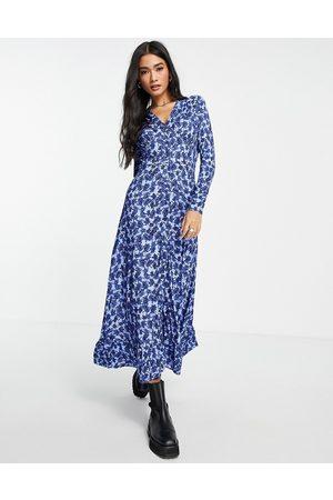 Whistles Midi tea dress in -Multi