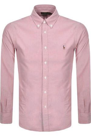 Ralph Lauren Men Business - Slim Fit Oxford Shirt