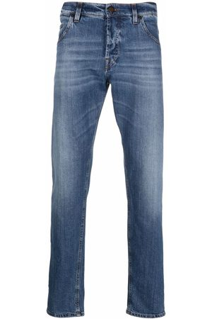 PT05 Men Straight - Fadded-effect straight-leg jeans
