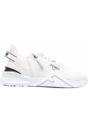 Fendi Women Sneakers - Flow low-top leather sneakers